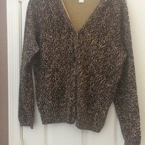Ladies Christopher and banks Cardigan small
